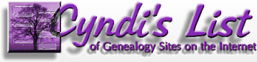 Cyndi's List of Genealogy Sites on the Internet